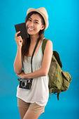 Mooie reiziger — Stockfoto