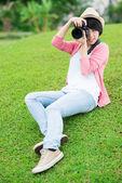 Photo making — Stock Photo