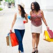 Fashionable shopping — Stock Photo