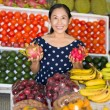 Saleswoman — Stockfoto