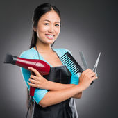 Equipment for haircutting — ストック写真