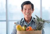 Com frutas — Foto Stock