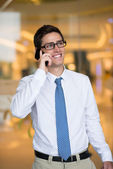 Modern businessman — Stock Photo