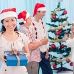 Χριστουγεννιάτικο πάρτι — Φωτογραφία Αρχείου