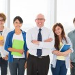 Educational team — Stock Photo