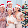 Merry smiles — Stock Photo
