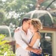 Stock Photo: Kiss of love