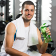 Break after workout — Stock Photo
