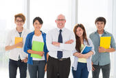 Educational team — Foto Stock