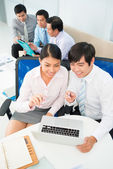 Business networking — Stock Photo