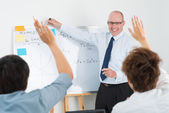 Classroom enthusiasm — Stock Photo