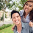 Cheerful young couple — Stock Photo #38560467