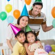 Stock Photo: Family party