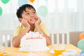 B-day boy — Stock Photo