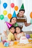Aile partisi — Stok fotoğraf
