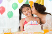 B-day girl — Stock Photo