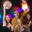 Friends clubbing — Stock Photo #39886613