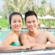 Couple in the pool — Stock Photo #39886855