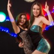 Foto Stock: Ladies in night club