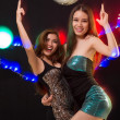 图库照片: Ladies in night club