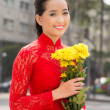 Stock Photo: Vietnamese beauty