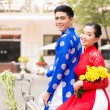 Stock Photo: Vietnamese couple