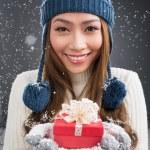Winter present — Stock Photo