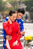 Vietnamesiska moderna liv — Stockfoto