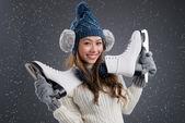 Wintersport — Stockfoto