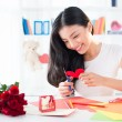 Valentine greeting cards — Stock Photo #40351657