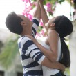 Foto Stock: Couple in honeymoon