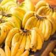 Stock Photo: Ripe bananas variety