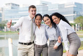 Modern business team — Stock Photo