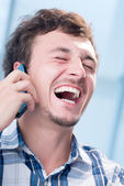 Laughing — Stock Photo