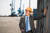 Port engineering  — Stock Photo