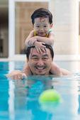 Happy father — Stock Photo