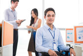 Young white collar worker — Stock Photo