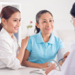 Visiting doctor together — Stock Photo #46251913