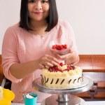Pastry chef — Stock Photo #46251933