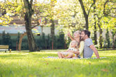 In the park — Stock Photo