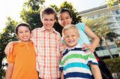 Four children — Stock Photo
