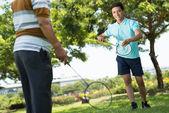 Badminton de l'été — Photo