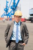 Professional inspector — Stock Photo