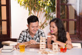 Young Asian couple — Stock Photo