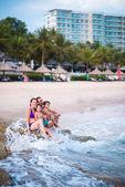 Enjoying the waves — Stockfoto