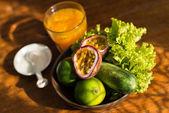 Taze meyve ve sebze — Stok fotoğraf