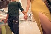 Unrecognizable couple — Foto de Stock