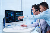 Business brokers — Stock Photo
