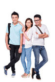 Vietnamese pupils — Stock Photo