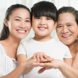 Asian family — Stock Photo #48690089
